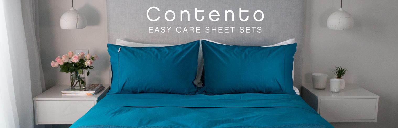 Contento 100% Cotton Sheet Sets