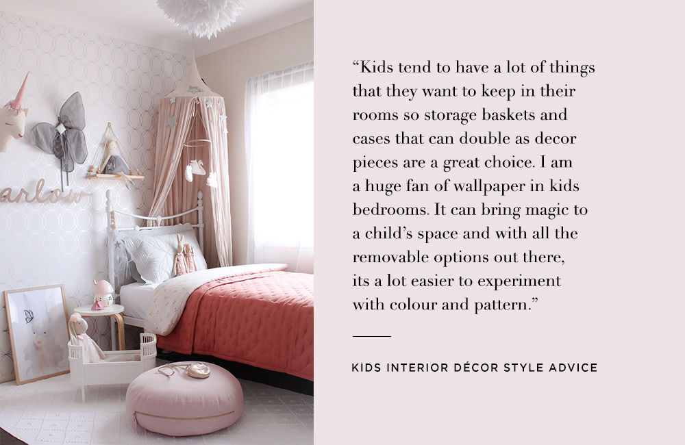 Kids interior style advice