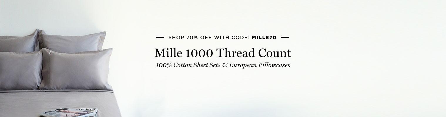 canningvale 1000TC Mille Sheet Sets Sale