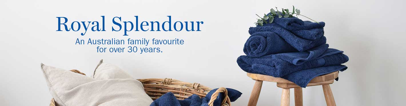 royal splendour Towel collection