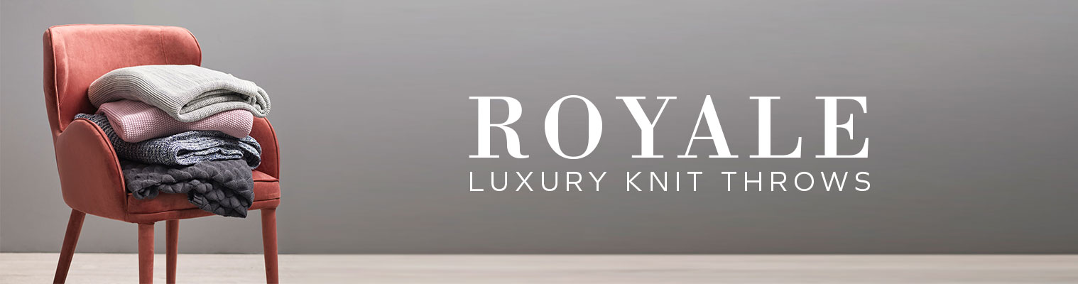 Royale Luxury Knit Throws