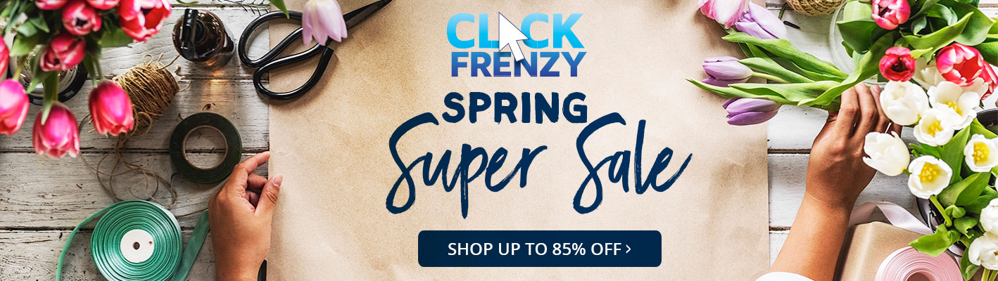 Spring Super Sale - Up To 85% Off