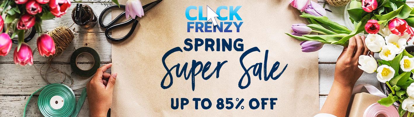 Spring Super Sale - Up To 85% Off