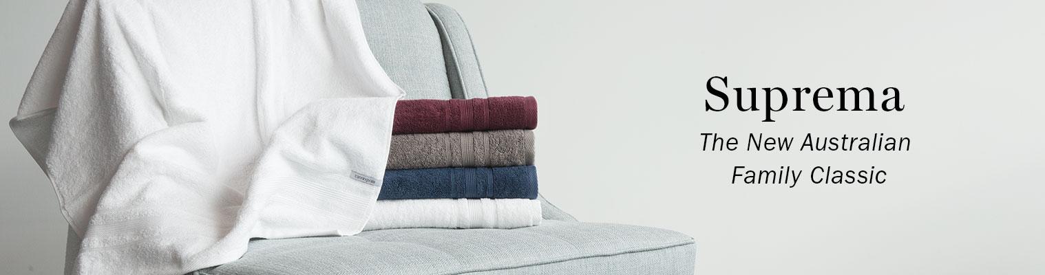 Suprema Towel Collection