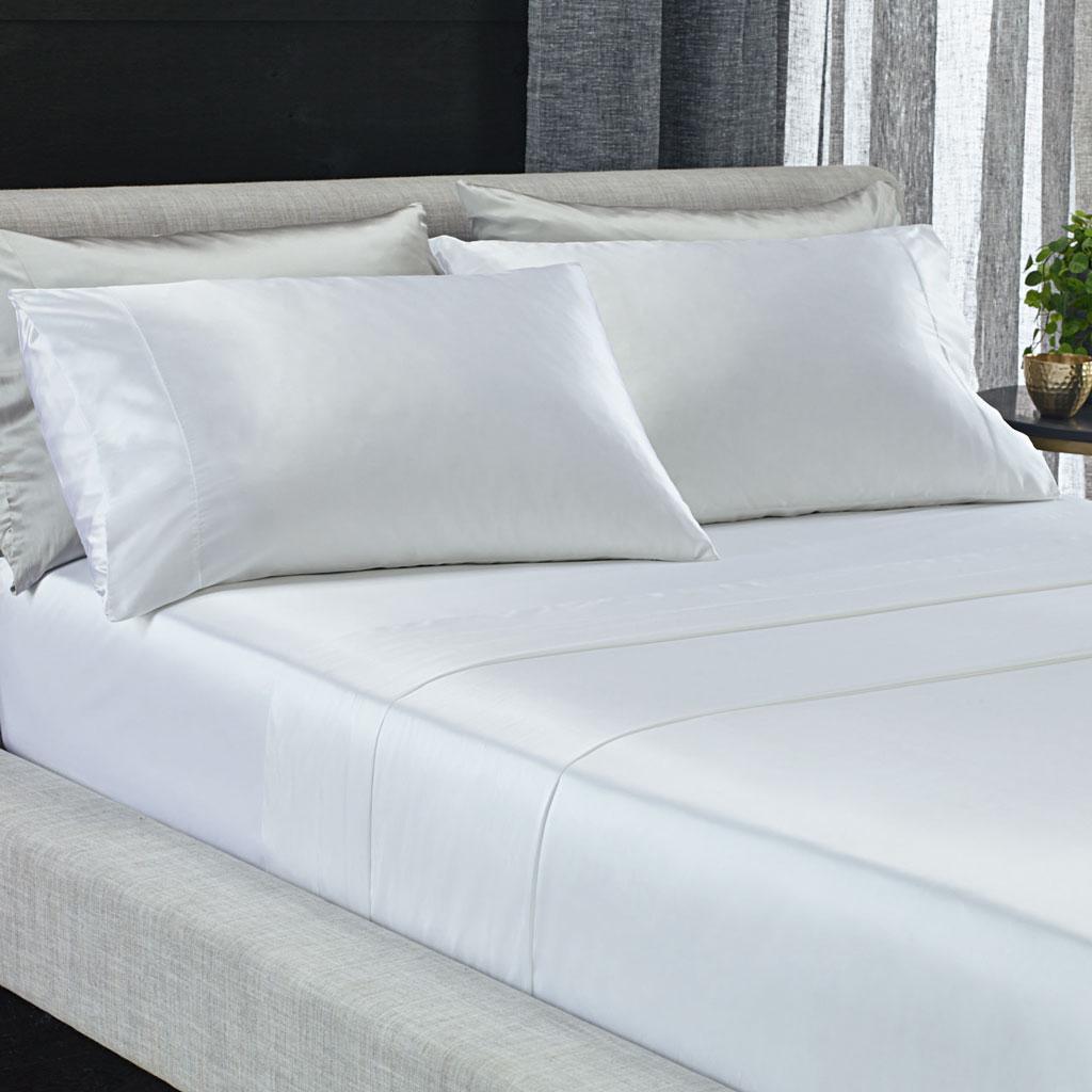 Canningvale Valli Silk Sheet set - Perla White