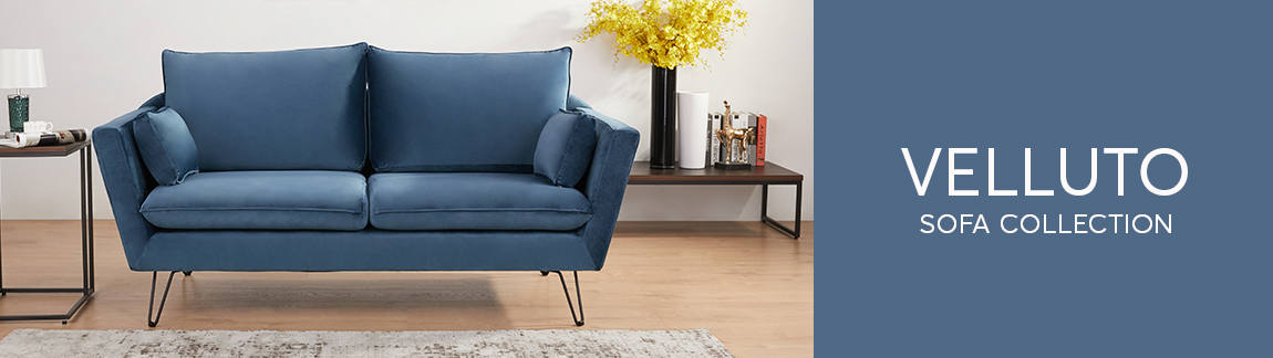 Canningvale Velluto Sofa Collection