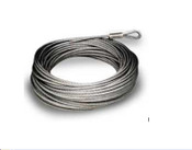 1/8'' 7x19 Galvanized 100' Pre-Cut Cable
