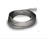 100' 1/4'' 7x19 Galvanized Pre-Cut Cable
