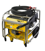 LP 13-30 P: Petrol-driven power pack, 30 lpm (8 gpm) including 7 m (52 ft) extension twin-hose.