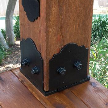 6x6 Post Anchor Designer Base Kit Milspec Anchors