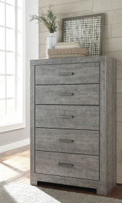 Culverbach Gray Five Drawer Chest