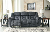 Capehorn Granite Reclining Sofa