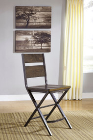 Kavara Medium Brown Barstool(Set of 2)