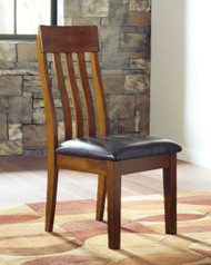 Ralene Medium Brown Dining Upholstered Side Chair(Set of 2)