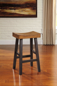 Glosco Two-tone Tall Stool(Set of 2)
