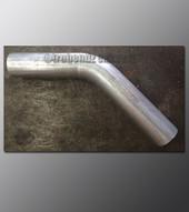 Mandrel Bend - 2.25 Inch OD Tube .065 wall - 45 Degree Aluminized
