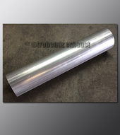 Mandrel Bend - 2.50 Inch OD Tube .065 wall - Straight Aluminized