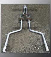 06-10 Dodge Charger Dual Exhaust - with Magnaflow - 2.5 inch