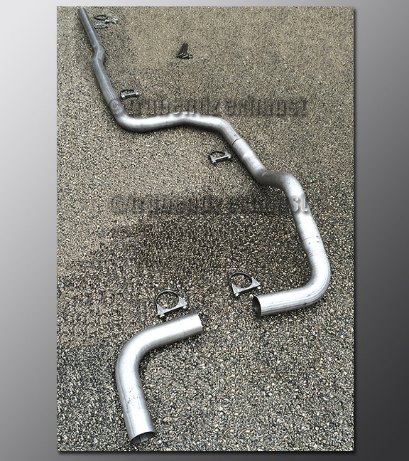 Acura Integra Exhaust Tubing System Mandrel Exhaust Systems - 1990 acura integra muffler
