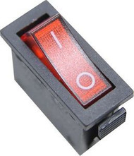 Power Switch -  Fireplace-  Red 3 Prong - WLPL/05