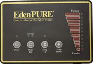 EdenPURE Circuit Board Cover & Silkscreen A50444