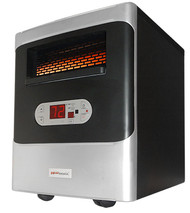 Heat WorX Portable Infrared Heater with air MAX Efficient Flow Technology