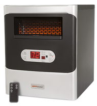 2018 Heat WorX 1500 Portable Infrared Heater with AirMAX Efficient Flow Technology
