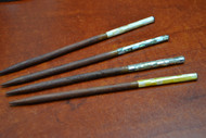 Mother Of Pearl Shell Wood Hairsticks