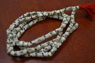 Tibetan Buddhish Buffalo Skull Bone Mala Prayer Beads 10mm