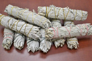 California White Sage Smudge Bundle 8-9""