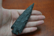 """Hand Knapped Agate Stone Spear Arrowhead Point 4 1/2"""" - 5"""""""