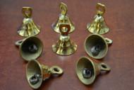 Handmade Farm Solid Brass Metal Bells