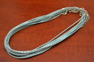 12 Pcs Wax Cottom Twist Necklace Cords 2mm