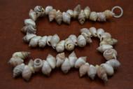 100 Pcs Small Orange Frog Seashell Beads Strand