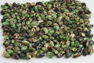 Dyed Green Tube Buffalo Bone Beads 9mm