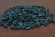 Cholocate Brown  Plain Tube Bone Beads 8mm
