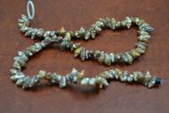 100 Pcs Small Brown Stripped Nassa Seashell Beads Strand