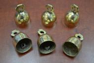 "Handmade Solid Brass Metal Farm Bells 2"""