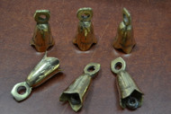 "Handmade Solid Metal Farm Brass Bells 2"""