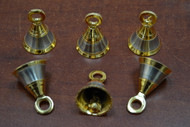 "Handmade Brass Solid Metal Farm Bells 1 1/2"""