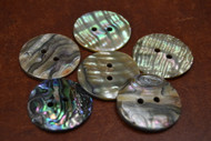 Abalone Shell Sewing Round Buttons 30mm