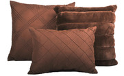 Carafe Rabbit Faux Fur 7 Piece Comforter Set Pillows