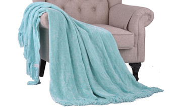 Island Paradise Chenille Jumbo Throw Blanket