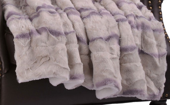 Calla Faux Fur and Sherpa Throw Blanket