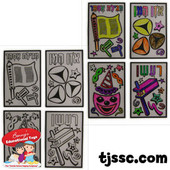 Purim Stained Glass Projects