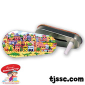 Jerusalem Tin Metal Purim Grogger -  Bulk as low as $0.59/ea