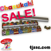 Metal Chanukah Menorah Art & Craft Project for Decoration (Pack of 18)