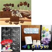 Shofars Chocolate Plaster Molds