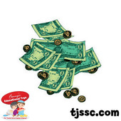 Money and Coins Card Stock Cut outs