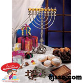 Chanukah Photo Card Stock Poster